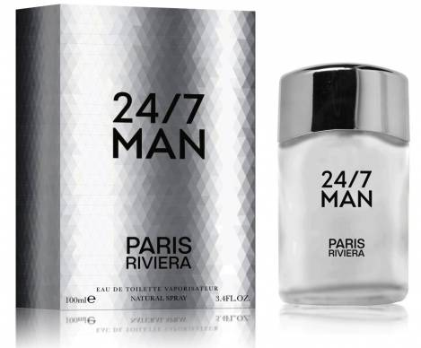 24/7 Man Herren Parfüm EdT 100 ml Paris Riviera